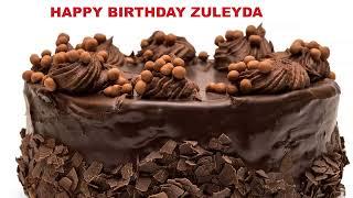 Zuleyda - Cakes Pasteles_1116 - Happy Birthday