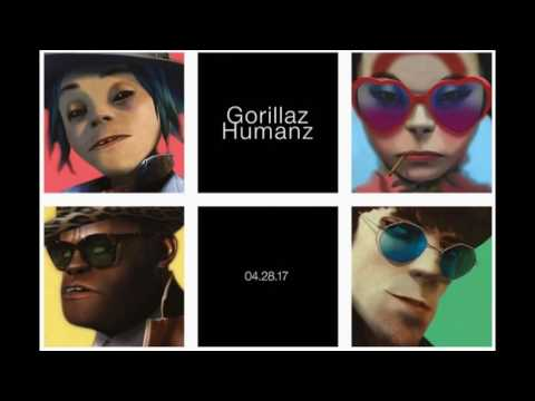 Gorillaz's Humanz four songs mp3s download