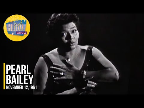 """Pearl Bailey """"I'm Glad There Is You"""" on The Ed Sullivan Show"""