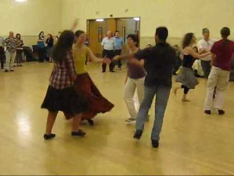 Stanford Ceili at BACDS Palo Alto contra dance (1 of 2) [25 Nov 2012]