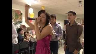 Казахская свадьба. Поздравление от племянников в стиле рэп. Остапенко В.