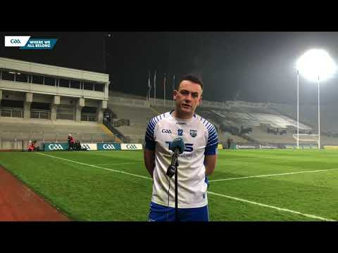 Waterford hurler Stephen Bennett talks to GAA.ie.