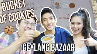 Geylang Bazaar Cookies Challenge - Vlog #32