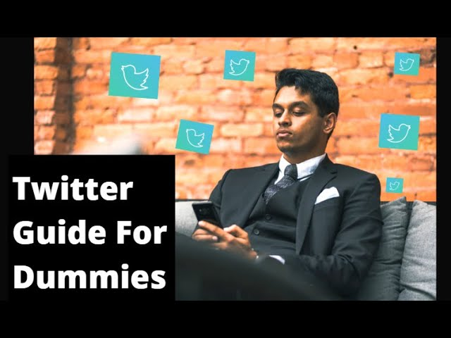 Twitter for Dummies: How to use Twitter & Write Tweets