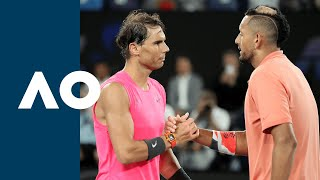 Rafael Nadal vs Nick Kyrgios - Extended Highlights (R4) | Australian Open 2020