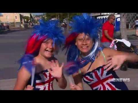Australia Day in Freo   9 News Perth
