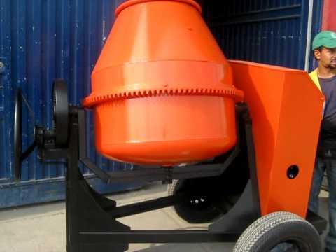 Mezcladora para concreto motor a gasolina thumbnail