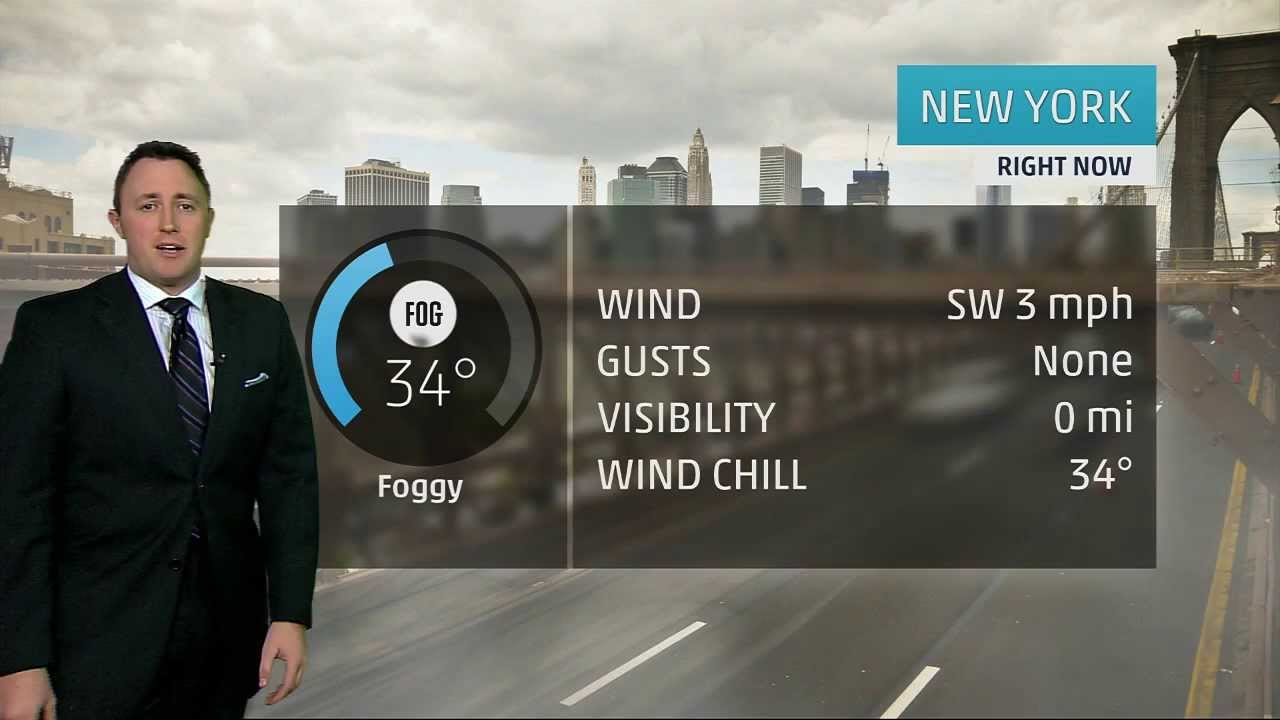 Meteorologist Ryan Davidson's Weather Channel Forecast