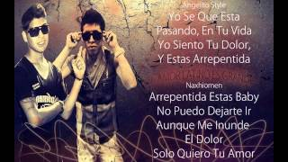 Vuelve .- Angelito Style FT Naxhiomen (Official Remix) Reggaeton Romantico 2015