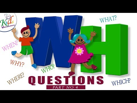 Wh Questions to Answer (part4) - How to Ask Question in English - Kids Vocabulary - YouTube