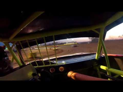 Salina Speedway Busch Light IMCA Hobby Stocks 5-4-18 *Heat 2* 32L Jordan Lindquist