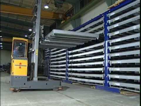 Storemaster Shuttletower Steel Storage System Youtube