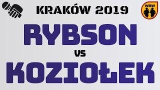 RYBSON vs KOZIOŁEK WBW2K19 Kraków (1/8) Freestyle Battle
