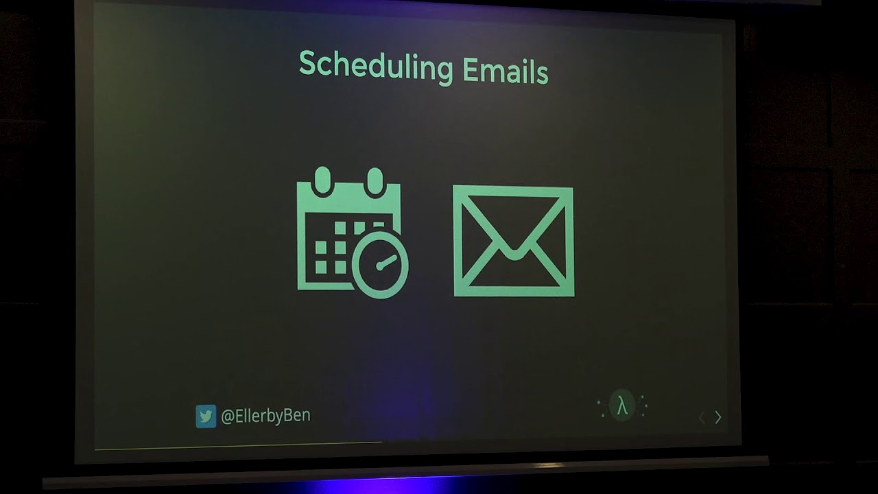Image from PyCon Ireland 2019 - Serverless Scheduling using Python Step Functions - Ben Ellerby