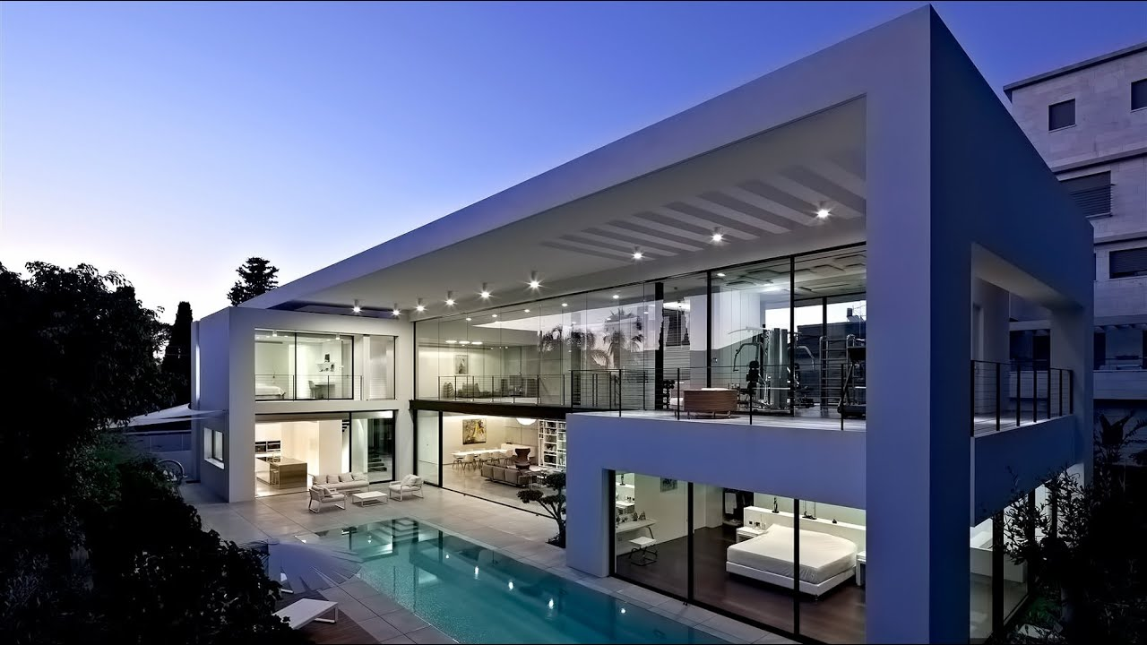 stunning ultra-modern contemporary luxury residence in haifa