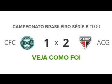 Coritiba 1 x 2 Atlético-GO - Melhores Momentos (HD) - Brasileirão Série B 08/09/2019