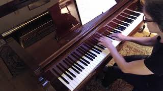 (HD) J. S.  Bach Allemande, French Suite No  3, BWV 814