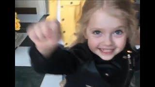 Домашнее видео апреля от Максима Галкина о Лизе, Гарри,Алле Пугачевой и весне