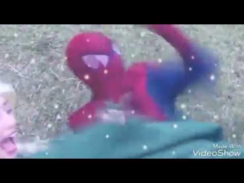 Frozen Elsa's GROSS FEET! w/ Spiderman...