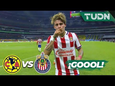 ¡SE ACABÓ! Mega golazo del 'Chicote' | América 0-2 Chivas | Guard1anes 2020 Liga MX | TUDN