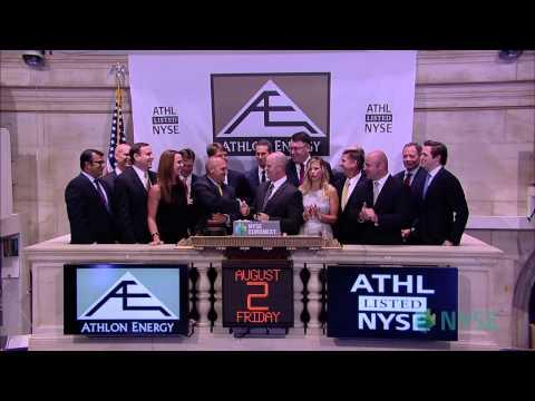 Athlon Energy Celebrates IPO on the NYSE