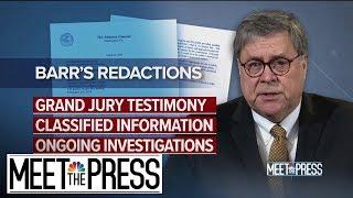 Democrats Reject Barr Timeline, Demand Full Mueller Report   Meet The Press   NBC News