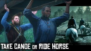 Take Canoe or Ride Horse to Murfree Country (Sneak or Dynamite - Decline or Accept Reward) RDR2