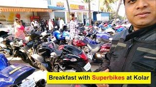 Breakfast with Superbikes at Kolar near Bangalore