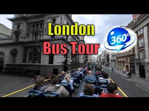 360 | London Bus Tour | 2017 ( Vacation Travel )