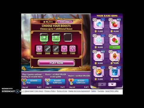 playing  stick run and  bejeweled  blitz