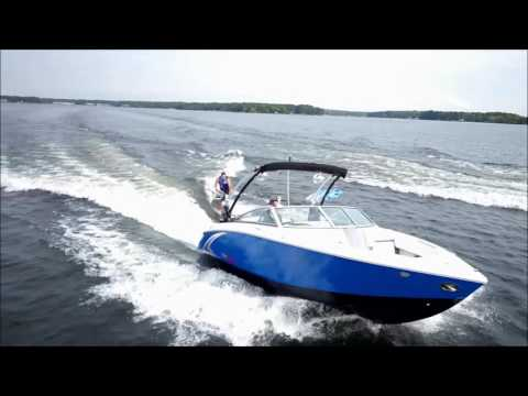 Cobalt R3 and R5 Wakesurf boats on Lake Norman