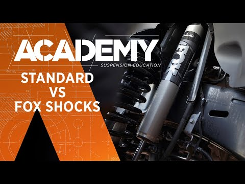 ACADEMY #4: Standard Vs FOX Jeep Shocks | FOX