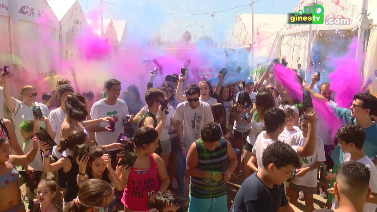 """The Color Party"" en la Feria de San Ginés 2018"