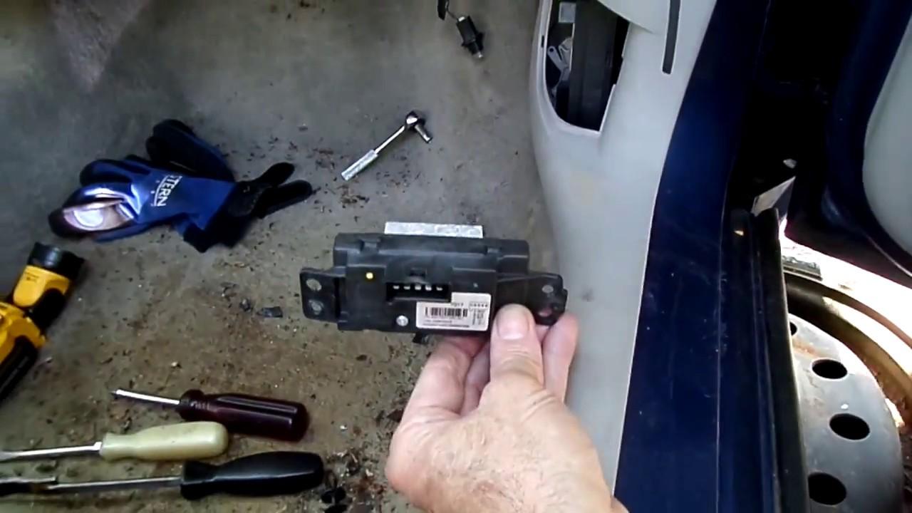 hight resolution of impala blower motor resistor removal