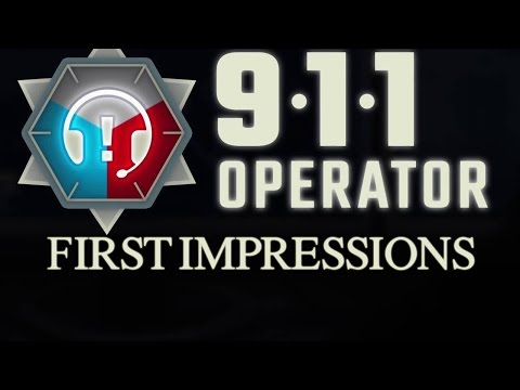 911 Operator Gameplay (FIRST IMPRESSIONS REVIEW  - Let's Play 911 Operator)