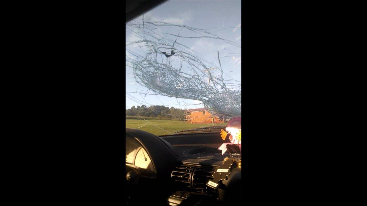 windshield Boob video washing