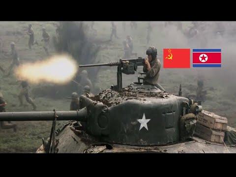PERANG KOREA 1950 ! KOREA UTARA MERATAKAN KOREA SELATAN