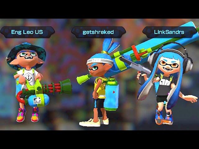 Splatoon com as Crianças: Nova Arma e Nova Arena - Nintendo Wii U gameplay
