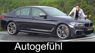 BMW 5-Series G30 5er FULL REVIEW test driven all-new neu gen 2017/2018 - Autogefühl