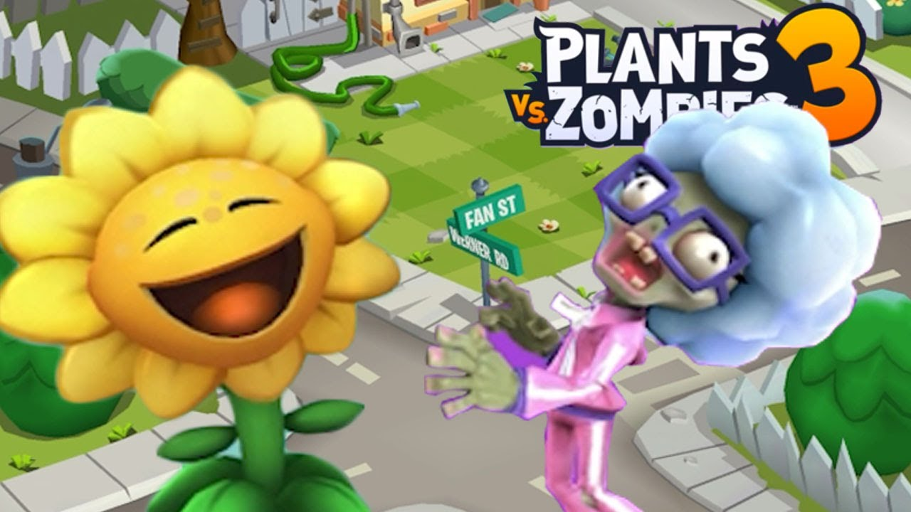 PLANTS VS ZOMBIES 3 A LOT HAS IMPROVED!!!