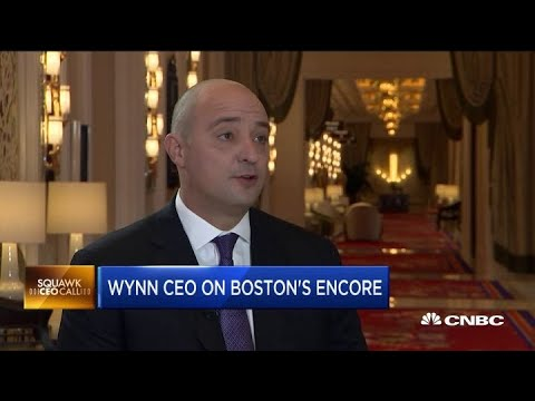 Wynn CEO On The Launch Of Its $2.6 Billion Massachusetts Casino