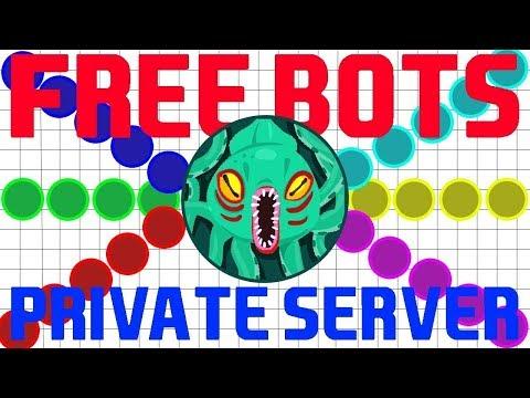how to make a agario private server