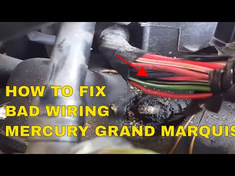 How to fix Wiring (Mercury Grand Marquis1998 to 2005)( Fuel Injectors)