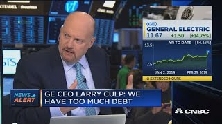 GE CEO Larry Culp: Danaher deal is the superior path to a health-care IPO