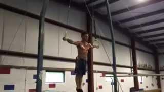 Chris - Strength Work - Maltese/cross - Gymnastics Still Rings Training