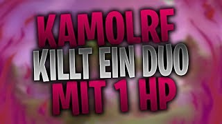 KAMOLRF killt ein DUO mit 1 HP | MEXIFY macht 6 Sniperkills in 15 Sekunden | Fortnite Highlights