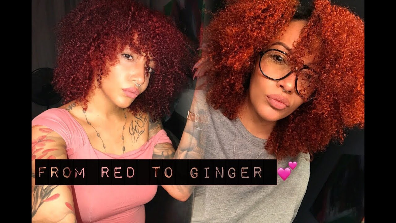 red ginger hair adore
