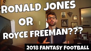 Ronald Jones or Royce Freeman - Which Rookie RB Should You Draft? | 2018 Fantasy Football