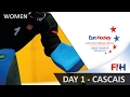 EuroHockey Indoor Club Challenge I 2017 - Day 1 - Women Cascais, Portugal