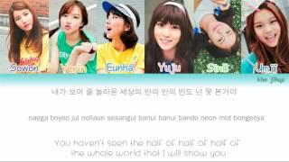-credits- hangul: ilyricsbuzz.com romanization: english: kbeat.net color coding: vockpopcclyrics *sorry if there any mistakes/wrong ---------...